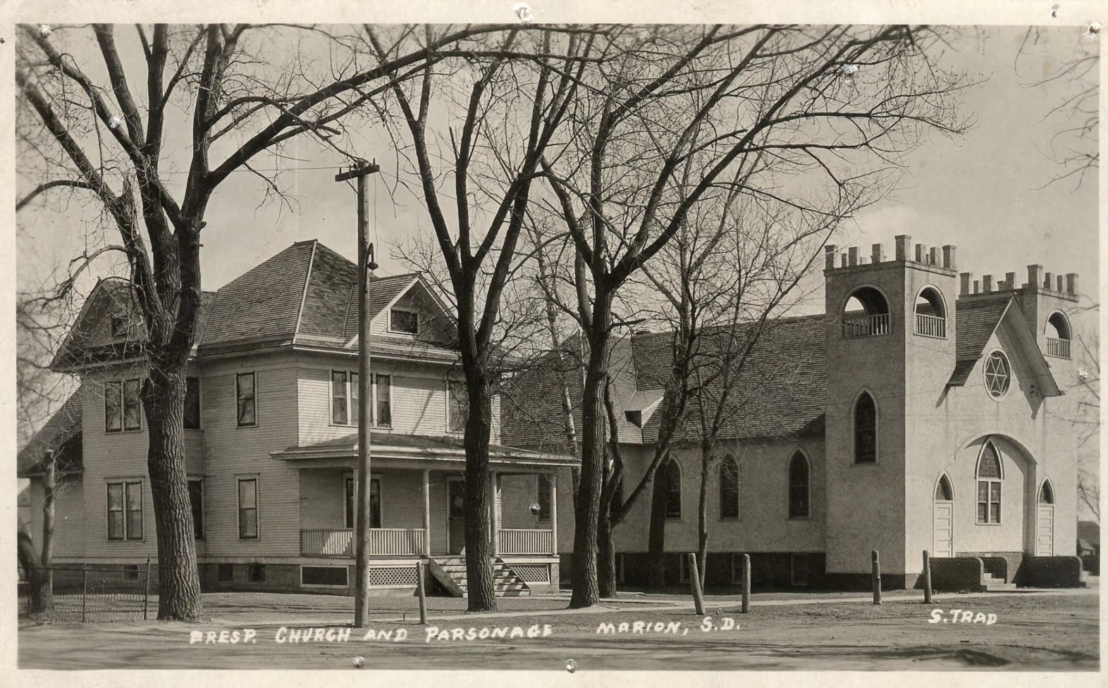 Church and Manse, 1939